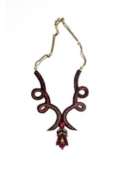 Necklace -UMH-N-0489 (Handmade in Mumbai With Love)